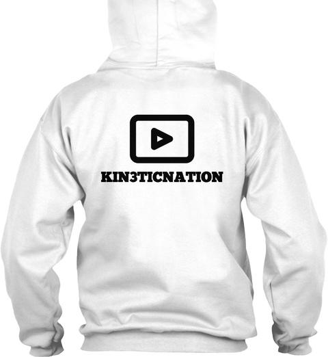 Kin3ticnation White T-Shirt Back