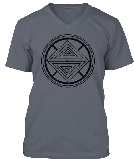 #Wearmaunakea Deep Heather T-Shirt Front
