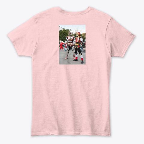 Camisa Jaspin Vs Jiraya Light Pink T-Shirt Back