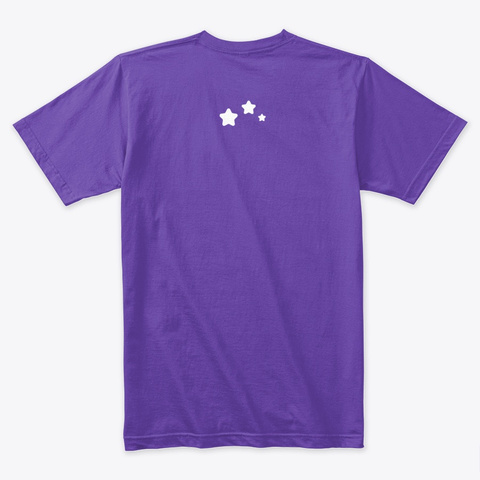 Comfy Cozy Con Purple Rush T-Shirt Back