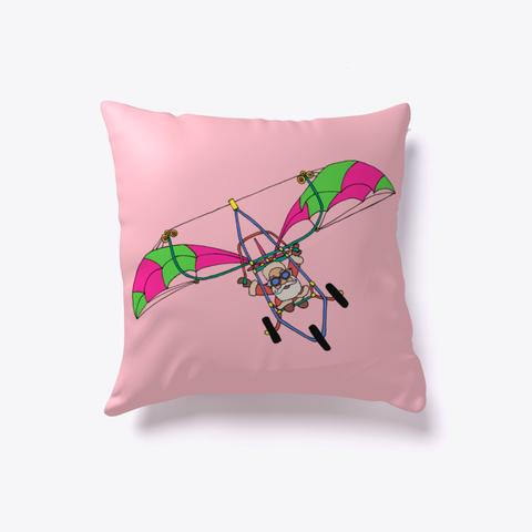 Santa Glider Pink T-Shirt Front
