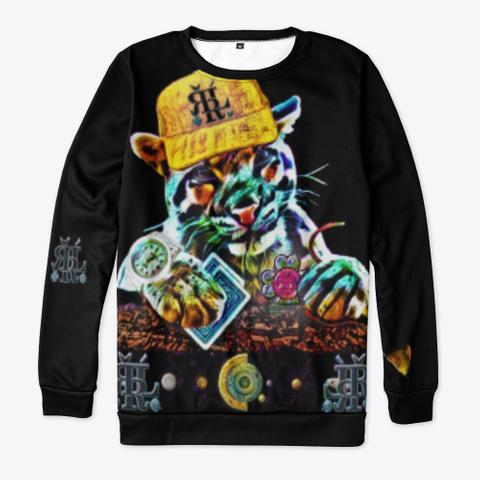 ¥€$ = Thank You!!! 5d4 K Black T-Shirt Front