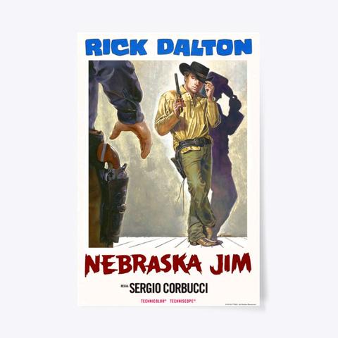 Nebraska Jim Standard T-Shirt Front