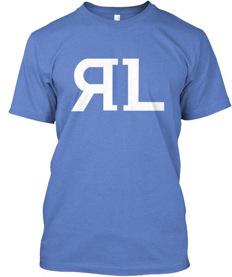 Rl Heathered Royal  T-Shirt Front