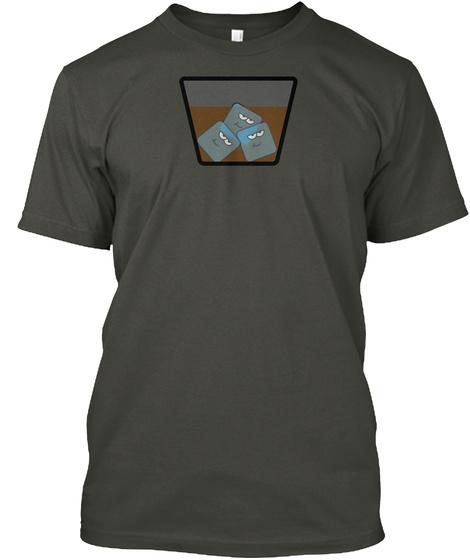 Happy Ice Smoke Gray T-Shirt Front