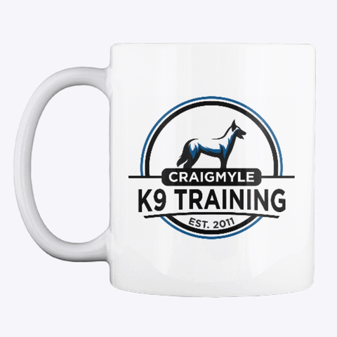 Craigmyle K9 Training  White T-Shirt Front