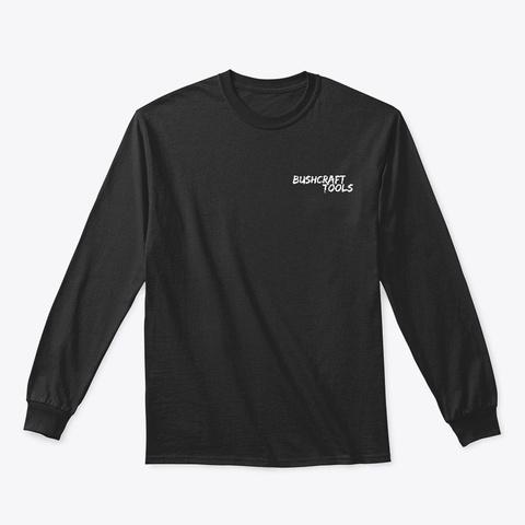 An Black T-Shirt Front