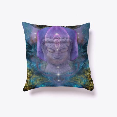 Buddha's Peace Black T-Shirt Front