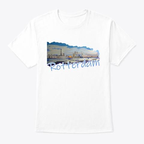 Rotterdam White T-Shirt Front