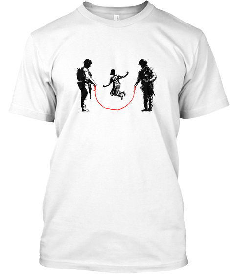 Save The Children White T-Shirt Front