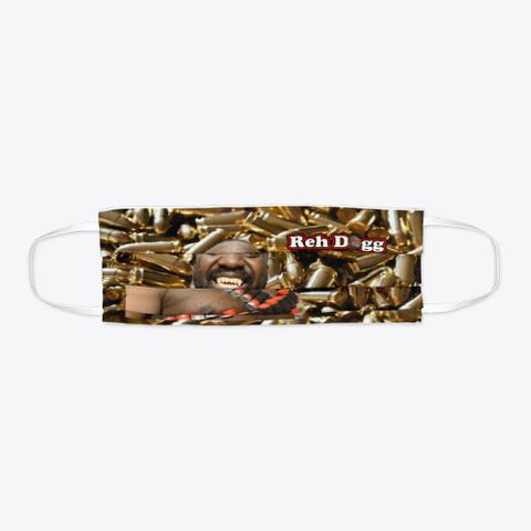 Reh Dogg Bullet Face Mask Standard T-Shirt Flat