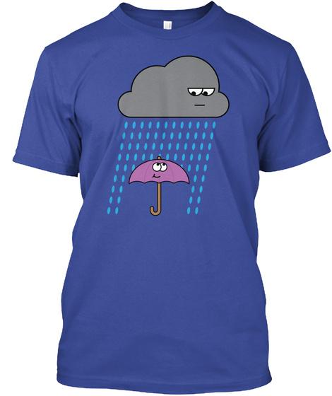 Rain Guys Deep Royal T-Shirt Front