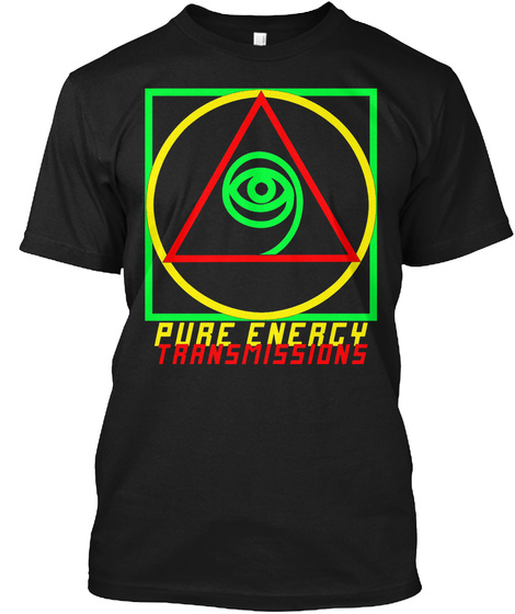 Pure Energy Transmissions Black T-Shirt Front