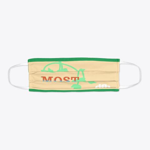 Most Beautiful Mask Green Kaos Flat