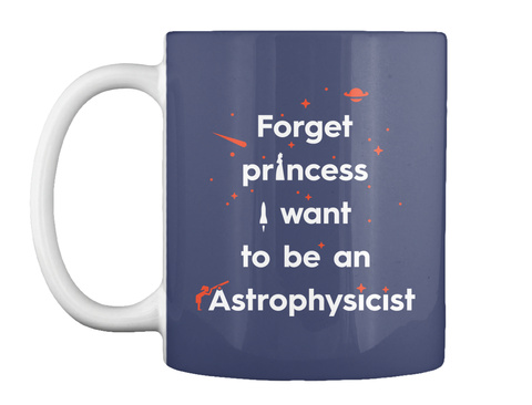 Forget Princess 1 Mug [Usa] #Sfsf Dk Navy Mug Front