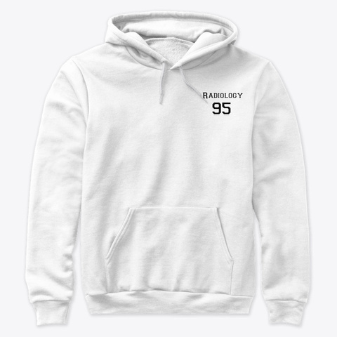 Radiology 95 White T-Shirt Front
