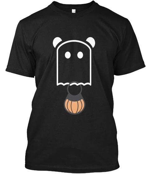 Halloween T Shirt Black T-Shirt Front