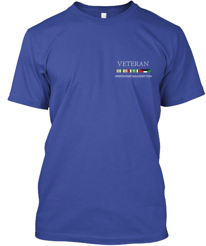 Uss-Ranger-Veteran-Operationdesertshielddesertform-Hanes-Tagless-Tee-T-Shirt thumbnail 8