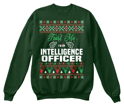 Trust Me I'm An Intelligence Officer Deep Forest  Maglietta Front