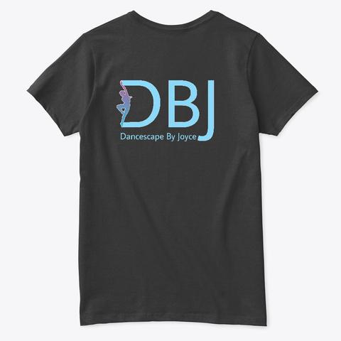 Dbj A School Of The Arts ...Blue Black T-Shirt Back