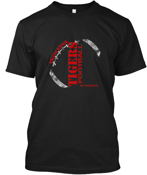 Princeton Tigers Dark Black T-Shirt Front