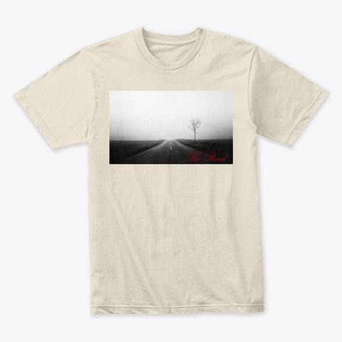The Road V2 Album Merch Cream T-Shirt Front
