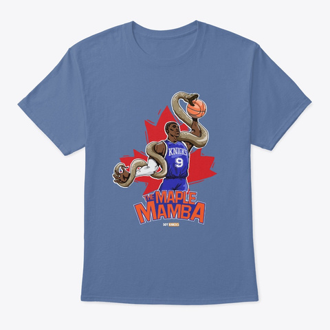 Mample Mamba Denim Blue T-Shirt Front