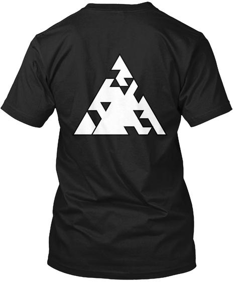 Qilla Quilla  (The Greek) Black T-Shirt Back