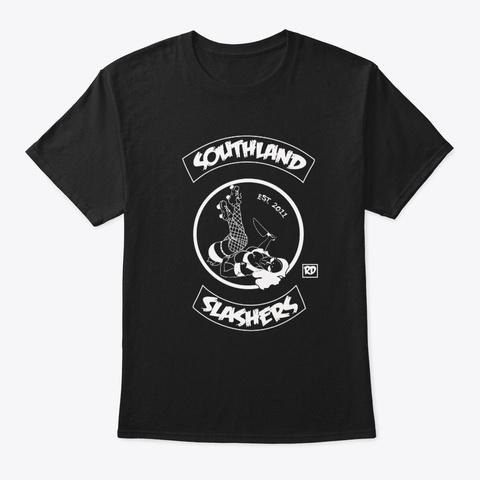 S.S.R.D Rocker Logo Black T-Shirt Front