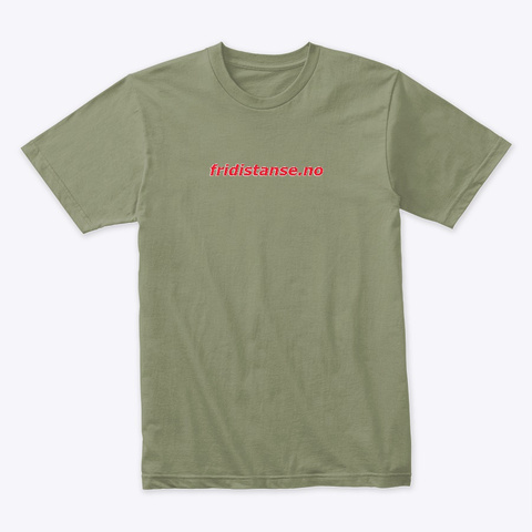 The Norwegian Paragliding Evolution  Light Olive T-Shirt Front