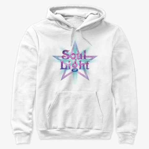Soul Light White T-Shirt Front
