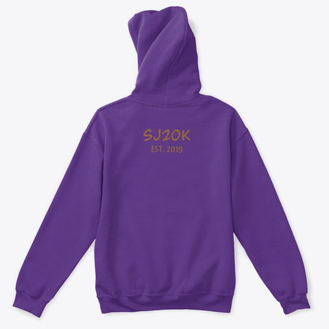 Sj20 K Purple T-Shirt Back