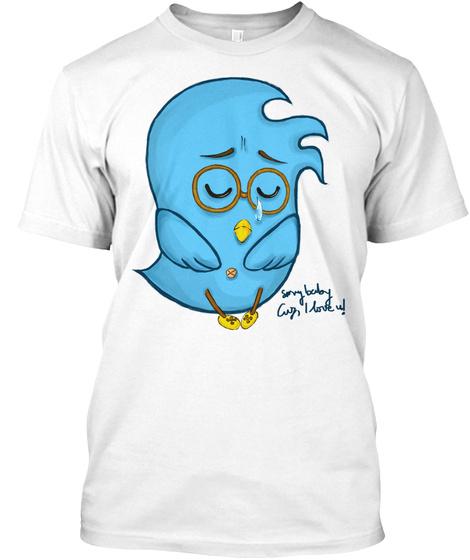 Peace Firebirds!!!! White T-Shirt Front