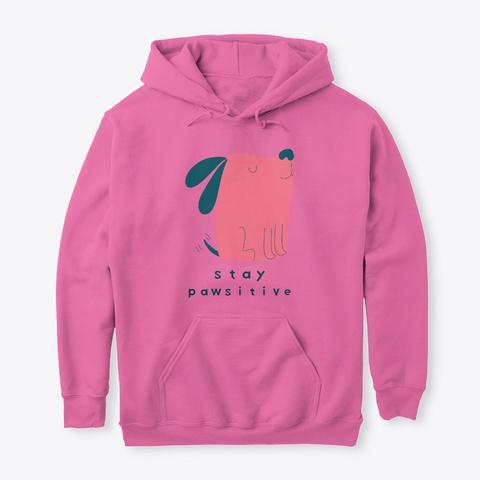Stay Pawsitive Puppy Azalea T-Shirt Front