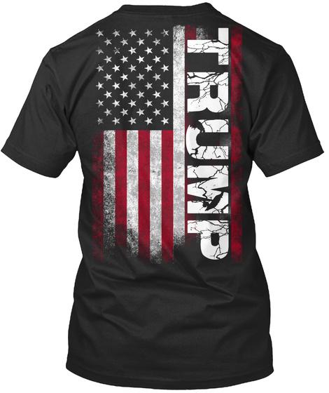 Trump Black T-Shirt Back