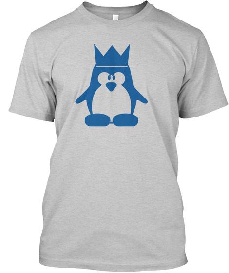 Penguin Queen Light Steel T-Shirt Front