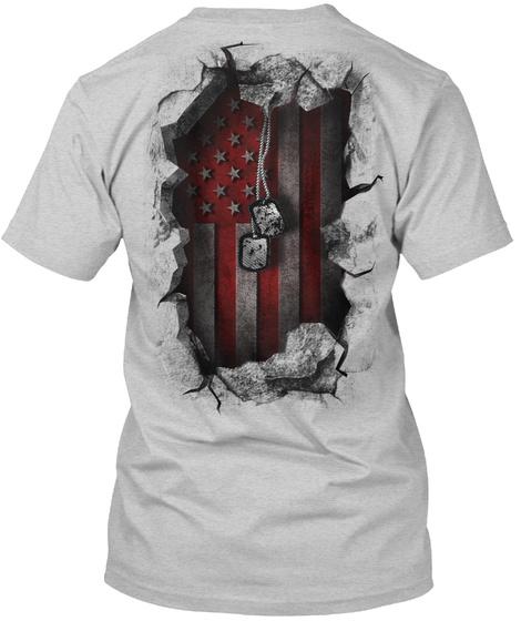 Red Friday Breakthrough Light Steel T-Shirt Back