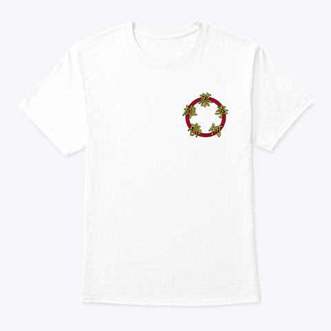 Student T Shirt White T-Shirt Front