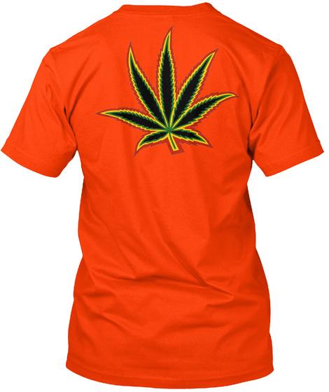Zureviews Distribution Orange T-Shirt Back