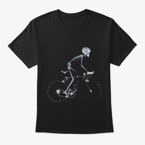 Cycling X Ray Bike Black T-Shirt Front