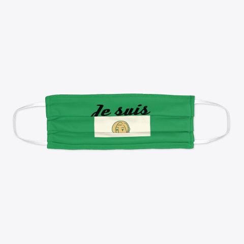 Accessoires Institutrice Green T-Shirt Flat