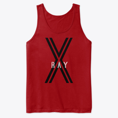 X Ray Red T-Shirt Front