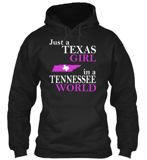 Texas Girl in Tennessee Unisex Tshirt