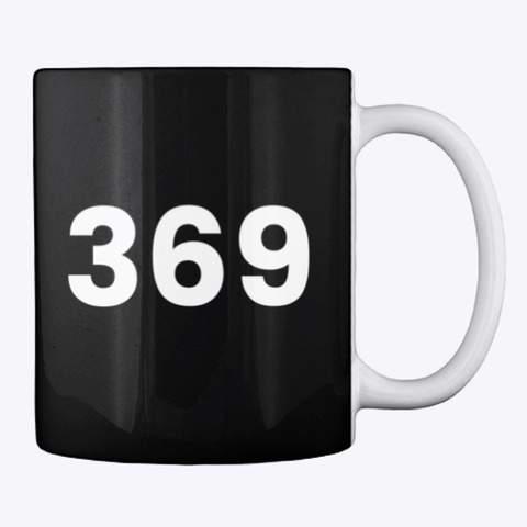 Mug: 369 Black T-Shirt Back