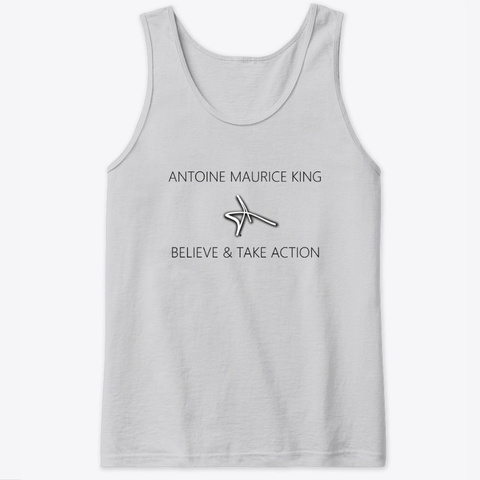 Antoine Maurice King Believe Collection Sport Grey T-Shirt Front