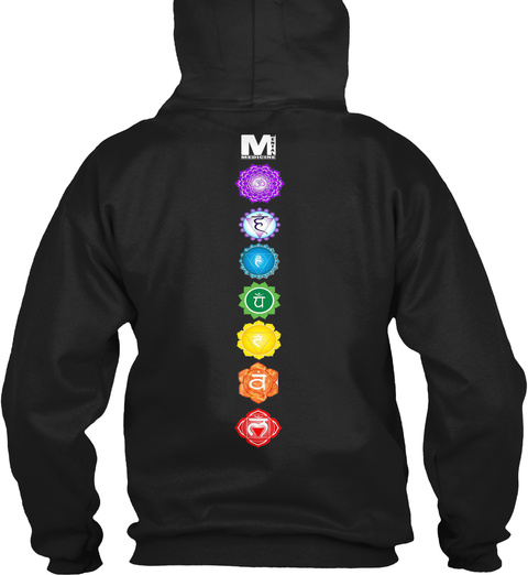 M Black Sweatshirt Back