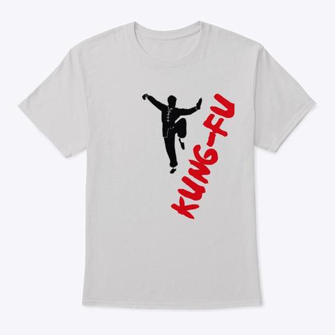 Kung Fu Light Steel T-Shirt Front