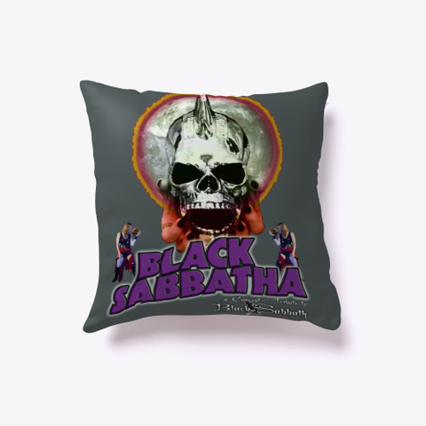 Black Sabbatha First Series Pillow Dark Grey T-Shirt Front