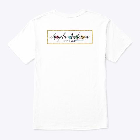 Taking A Stick Day White T-Shirt Back