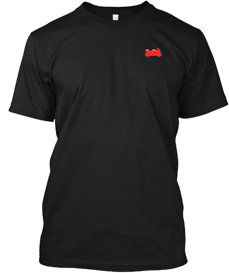 Virginia Is For Riders Black T-Shirt Front